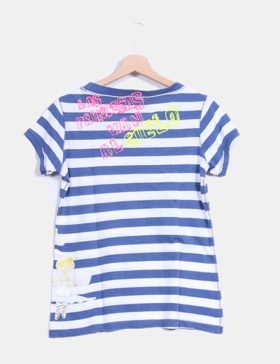 Camiseta a rayas print