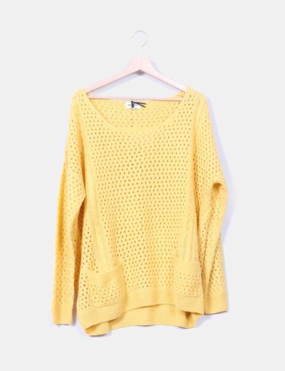 Jersey troquelado amarillo Pepaloves