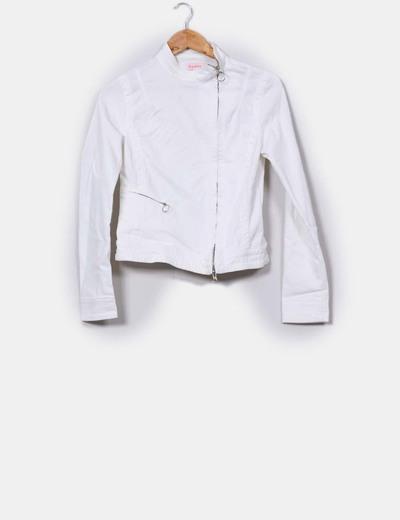 estilo único ofrecer descuentos estilo de moda Chaqueta blanca