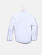Camisa blanca con botones Burberry