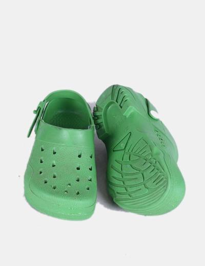 comprar popular c68e5 27bd3 Zuecos destalonados verdes