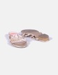 Sandalia plana animal print Cremades