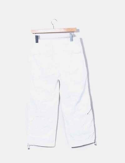 Pantalon sport blanco