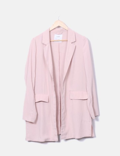 Trench rose pâle Pull&Bear