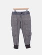 Pantalón baggy cuadros gris Desigual