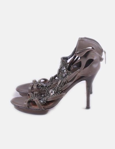 Sandálias de tacão Lola Cruz