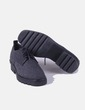 Zapato gris felpa Zara