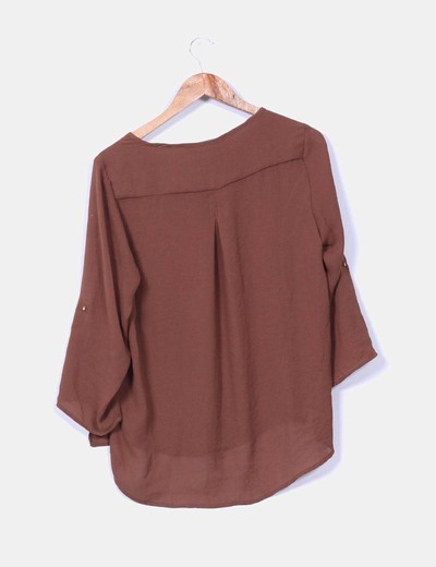 Blusa marron