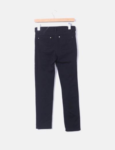 Pantalon elastico color negro