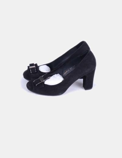 Zapato negro de ante NoName