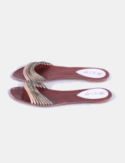 Sandalia plana de tiras Miss Sixty