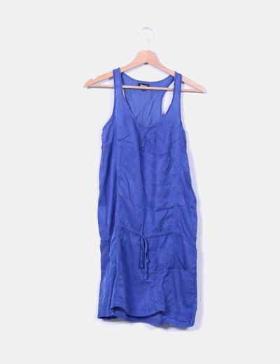 Vestido azul  Suiteblanco