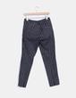 Pantalón negro estampado H&M