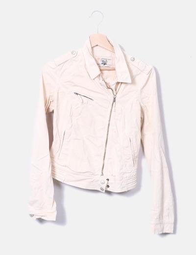 Jaquetas de pêssego cor de jaqueta Zara