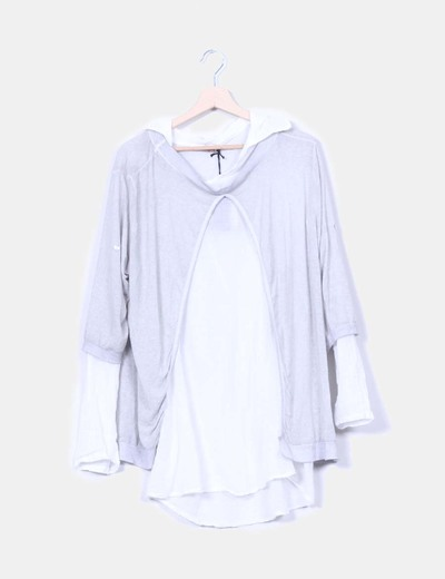Cardigan camisero