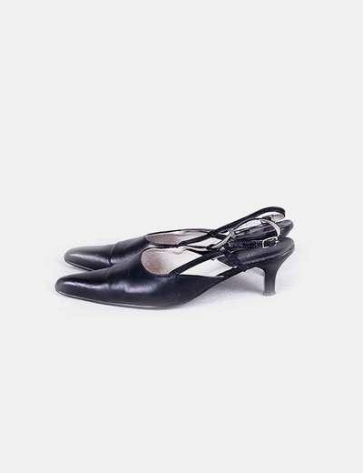 Sandalia destalonada de punta Visto Bueno