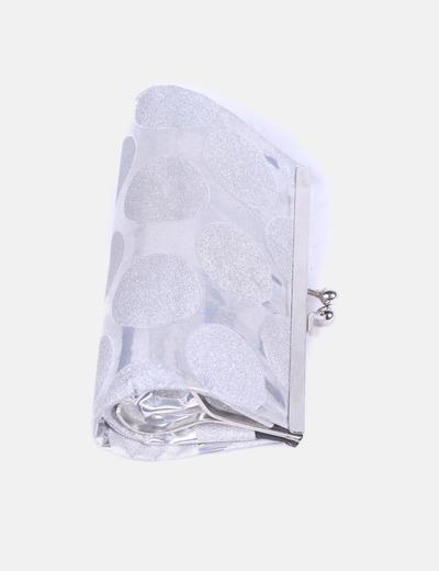 Mini bolso de mano gris