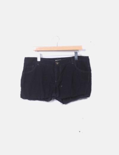 Short pana negro