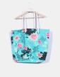 Maxi bolso lona verde estampado floral Billabong