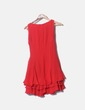 Vestido rojo volantes Hermes Govantes