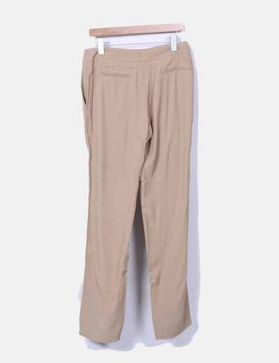 Pantalon camel fluido