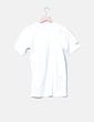 Camiseta blanca print Nike