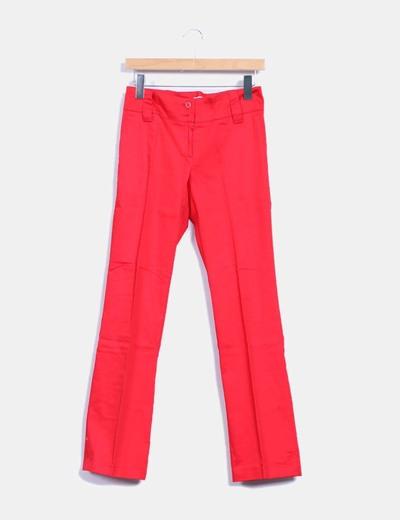 Pantalón de pinzas rojo J. Arggido