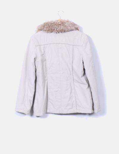 In Extenso Abrigo beige cuello de pelo (descuento 84%) - Micolet 0b1dc0c9ed79