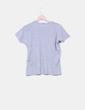 Camiseta básica gris texturizada NoName