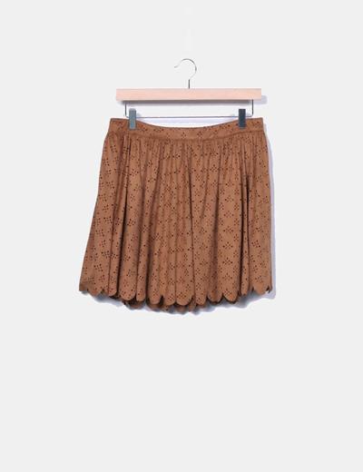 Mini jupe Parisian