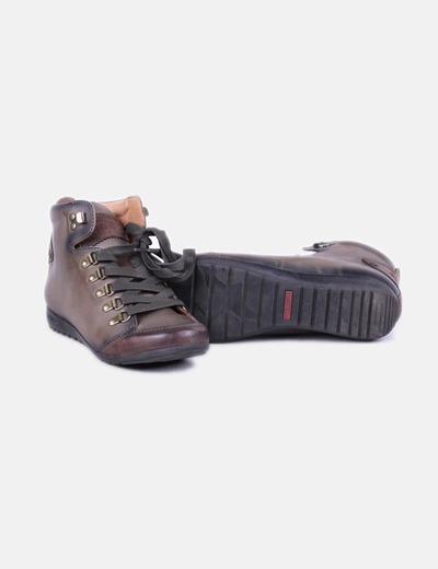 20cea0b4 Pikolinos Zapatos abotinados verde (descuento 70%) - Micolet