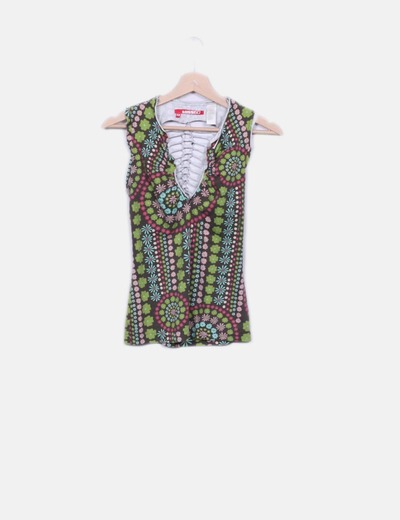 T-shirt floral Miss Sixty