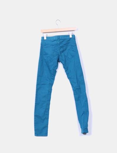 Pantalon pitillo verde