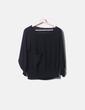 Blusa gasa negro Zara