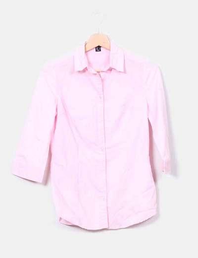 Primark camisa entallada rosa palo descuento 92 micolet - Primark fundas movil ...