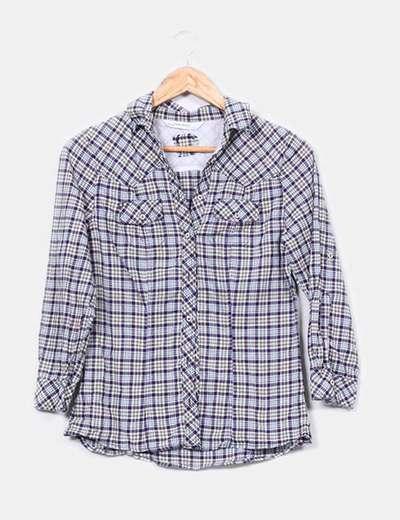 Camisa cuadros  Zara