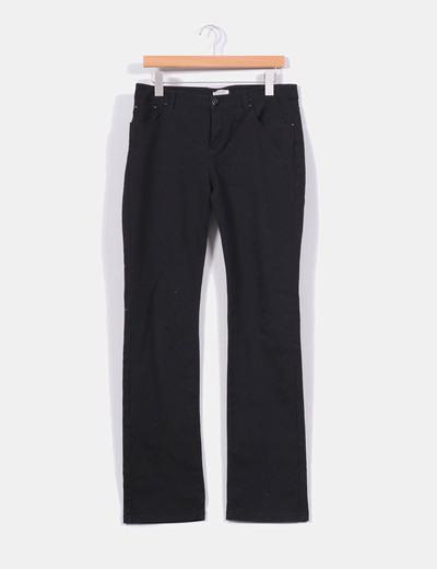 fce76741d9 Cortefiel Pantalón pata recta negro (descuento 84%) - Micolet