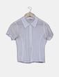 Blusa blanca corchet El Corte Inglés