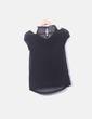 Blusa negra abalorios Primark