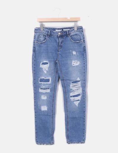 zerrissene jeans stradivarius