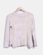 Jersey tricot con pelos y estampado V & K