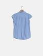 Camisa azul manga corta Amichi