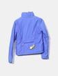 Chaqueta acolchada impermeable azul Bershka
