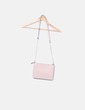 Bag pale pink gold chain Mango