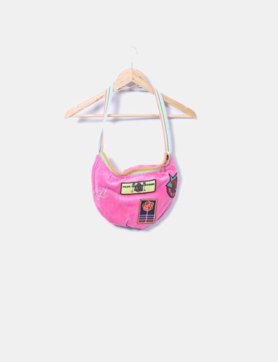 Rosa Jeans Patchworkdescuento Vintage Pepe 91Micolet Bolso 4jq35ARL