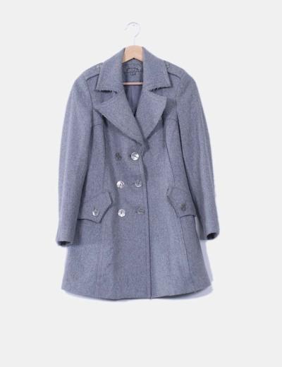 Abrigo gris de stradivarius