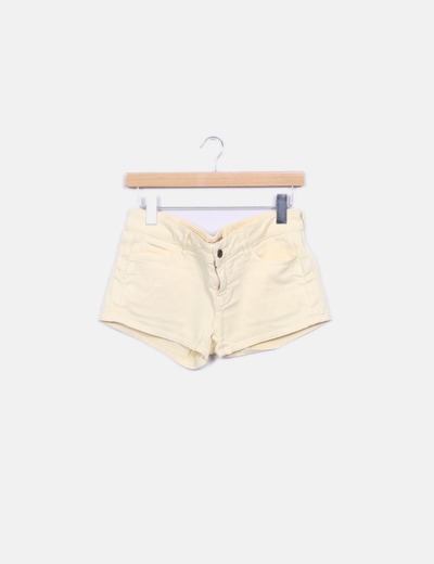 Short denim amarillo BEL AIR