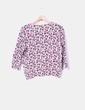 Suéter tricot print floral H&M