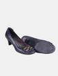 Zapato verde detalle hebilla Miryan