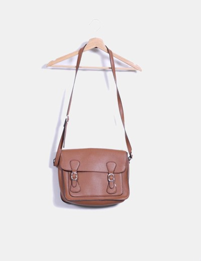 Bolso satchels marrón Bagstar
